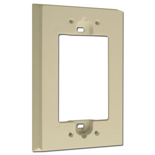 Leviton Ivory Deep Switch Plate Extender for Shallow Wall Boxes