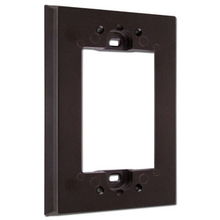 Brown Switch Plate Lift Extender for Protruding Electrical Box