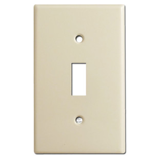 1 Toggle Cover Plates - Ivory