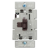 Brown 3 Way 600 W Toggle Dimmer Switch