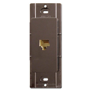 Brown Phone Jacks for Decorator Wall Switch Plates
