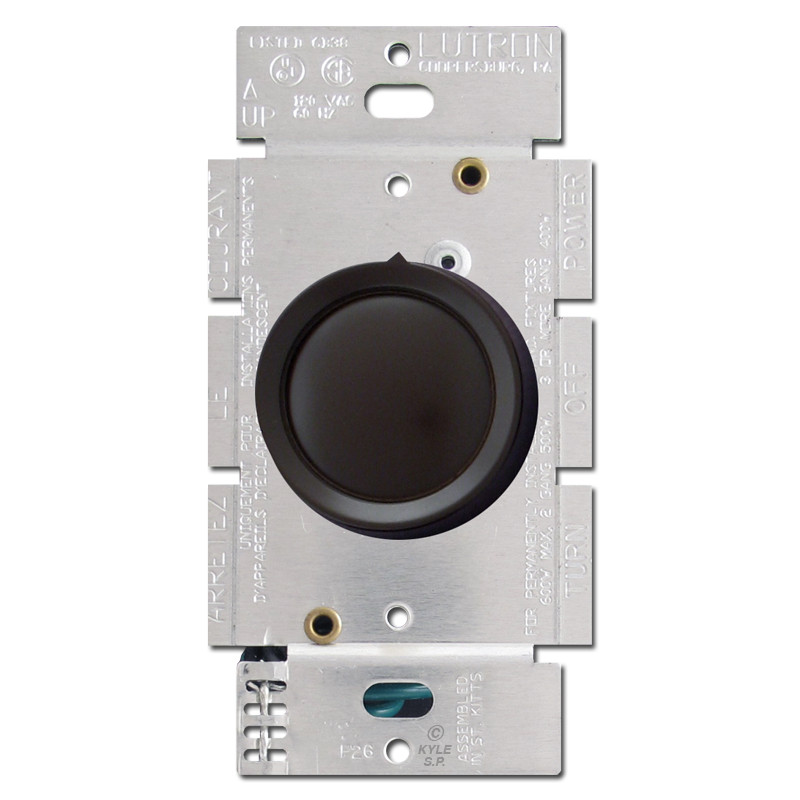 Rotary Light Dimmers, Replacement Knobs GE Lutron Leviton