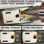 Install device in a despard strap.