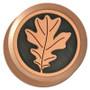 Oak Leaf Personalized Rotary Light Dimmer Knobs
