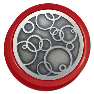 Abstract Circles Personalized Round Light Dimmer Knobs