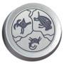 Silver Southwest Design on Silver Dimmer Knob