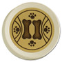 Paw Prints and Bones Rotary Light Dimmer Knobs