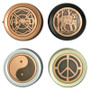 Decorative Copper Rotary Dimmer Knobs - pick a design