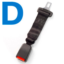Type D Car Seat Belt Extender