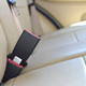 Mini Car Seat Belt Extender buckled into the car by Seat Belt Extender Pros