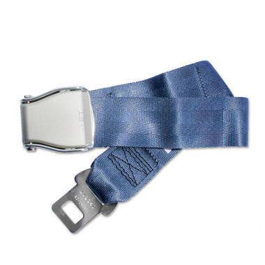 Universal Airplane Seat Belt Extender elegantly configured