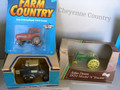 3 Toy Tractors  Ford FW-60 1528, Deere A #5598 Case 7210 Tractor 458 T50