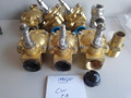 "Lot of 6 solenoid valves 1"" thread F X F thread Car Wash cw-59"