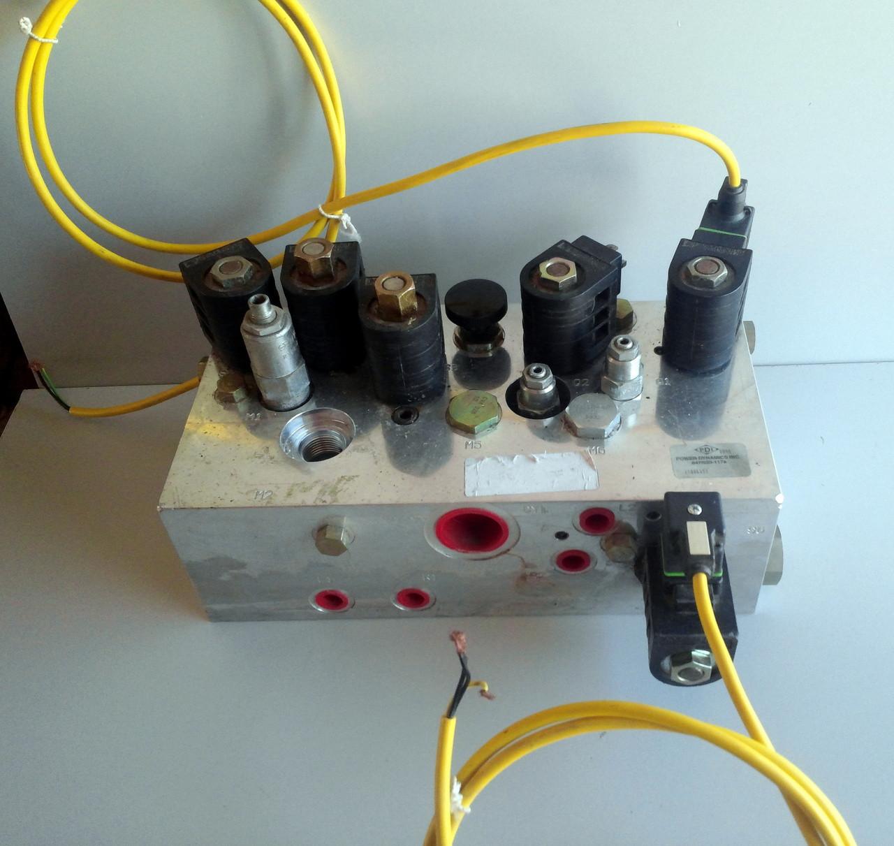 PDI POWER DYNAMICS 847/520-1178 Hydraulic Control Manifold W