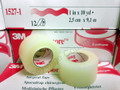 "3M Transpore Transparent Water-Resistant Medical Tape 1""x10 yd 12/BX 1527-1"