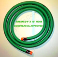 "GOODYEAR 3/4"" x 12' FLEXSTEEL Green HARDWALL GASOLINE HOSE 559N fuel hose"