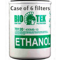 "(6) Cim-Tek Bio-Tek 70120 Fuel Filter 10 Micron 1 1/2"" 16 UNF 1"" Flow 400MB-10"