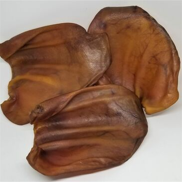Mushyface Cookie's all-natural, smoked Pig Ears