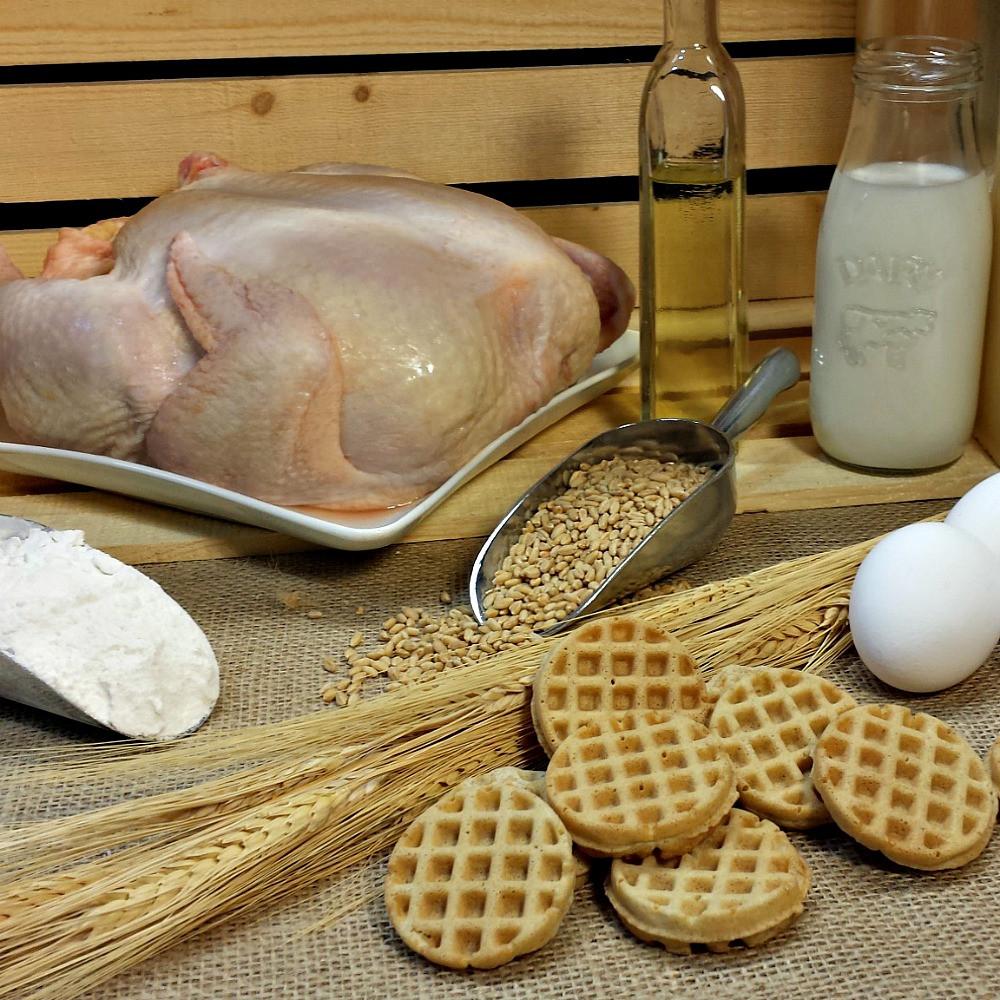Chicken n' Woofles Ingredients