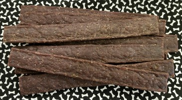 Mushyface Cookie Co.'s original Beef Jerky Sticks