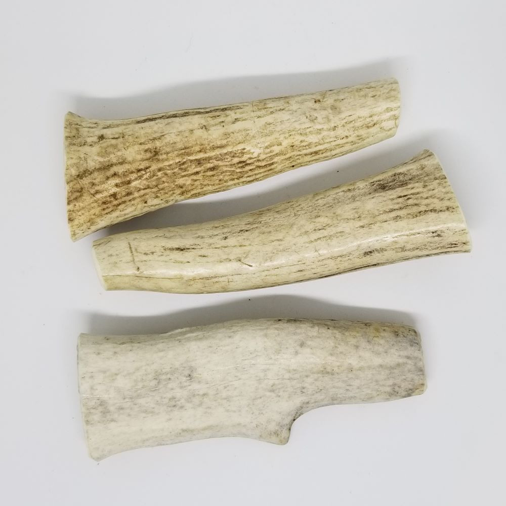Sample of Small Whole Antlers. Antler will vary from those shown.