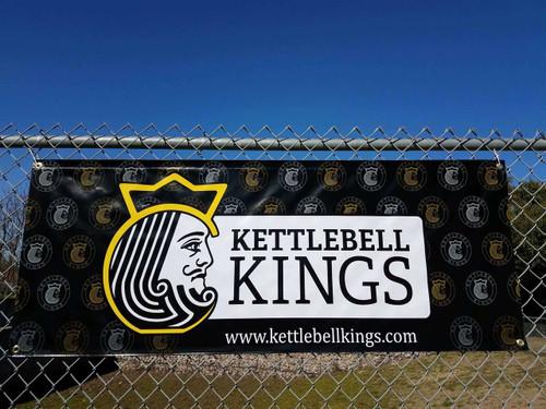 kettlebell banner, kettlebell kings banner