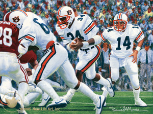 Iron Bowl 1982 by Daniel A. Moore
