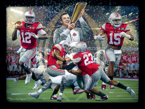 """Champions of a New Era"" - 2014 College Football Game of the Year® - Ohio State vs. Oregon."