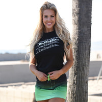 Ombre Swim Skirt  - Green PWC Jetski Ride & Race Swimwear