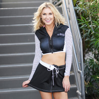 Mission Bay Swim Skirt - Black PWC Jetski Ride & Race Swimwear