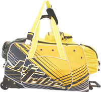 Day 10 Rolling Gear Bag Spike - Yellow PWC Jetski Ride & Race Gear