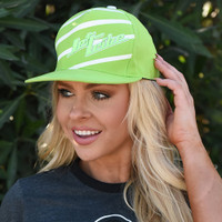 TNT Stripe Hat - Green PWC Jetski Ride & Race Accessories