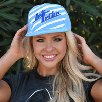 TNT Stripe Hat - Blue PWC Jetski Ride & Race Accessories