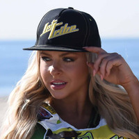 Stacked Hat - Yellow PWC Jetski Ride & Race Accessories