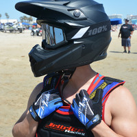 Spike GP-30 Gloves - Blue PWC Jetski Ride & Race Gear