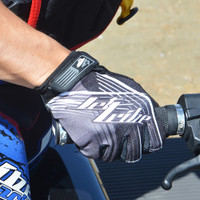 Spike GP-30 Gloves - Grey PWC Jetski Ride & Race Gear