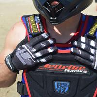 Scratch GP-30 Gloves - Grey PWC Jetski Ride & Race Gear