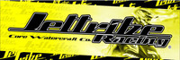 Banners 9' X 3' - Black/Yellow PWC Jetski Ride & Race Accessories