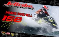 Rider Poster - James Bushell PWC Jetski Ride & Race Accessories