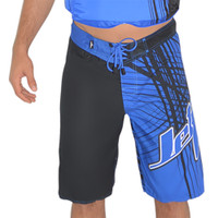 Men's Spike Shorts - Blue PWC Jetski Ride & Race Apparel