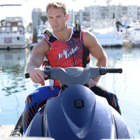 UR-20 Spike Vest - Red PWC Jetski Ride & Race Gear