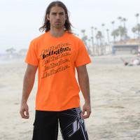 Logo Stack - Limited Edition Orange - T-Shirt PWC Jetski Ride Apparel