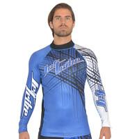 Rashguard Spike -Blue PWC Jetski Ride & Race Apparel