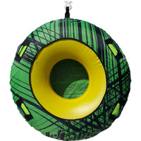 Donut Towable One Person Inflatable Tube PWC Jetski Ride & Race-Green