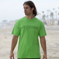 Wire T-Shirt Green PWC Jetski Ride & Race Apparel
