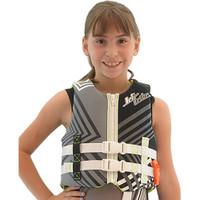 Child U.S.C.G. Young Heart Neoprene Vest - Grey Jetski Ride & Race 30 - 50 lbs (14kg - 23kg)