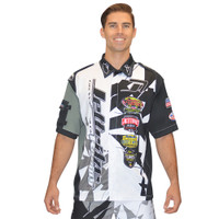 Men's Pit Shirt Shattered Black PWC Jetski Ride & Race Apparel