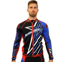 Jacket Only - Shockwave Red/Blue PWC Jetski Jacket (Medium Only)