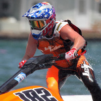 UR-20 Spike Vest -  Neon Orange  PWC Jetski Ride & Race Gear