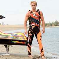 UR-20P Edge Vest -  Neon Orange  PWC Jetski Ride & Race Gear